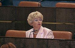 «Гора родила мышь» – так охарактеризовала антикоррупционный пакет сенатор Нарусова. Загружается с сайта Ъ