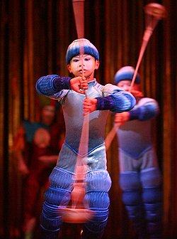 Москву взяли в арену // Cirque du Soleil впервые выступает в России