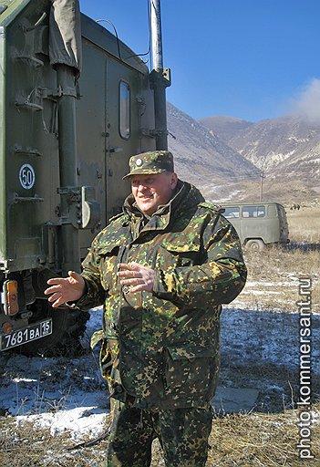 Командир 102-й бригады внутренних войск Дагестана Борис Гонцов
