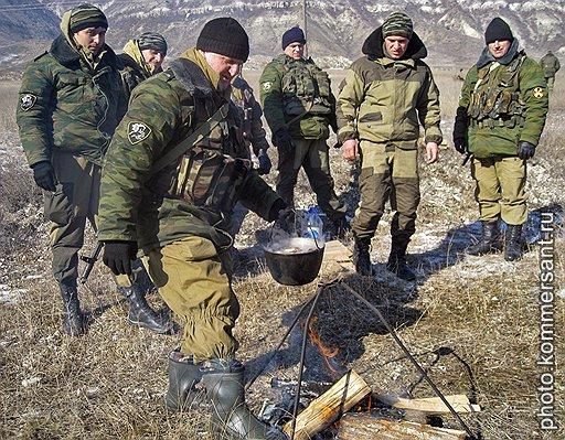 102-й бригаде внутренних войск МВД России в Дагестане приходится работать в основном в горно-лесистой местности