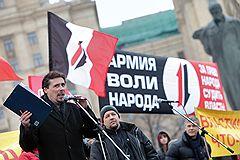 Руководитель московского отделения Федерации автомобилистов России (ФАР) Сергей Канаев (слева)