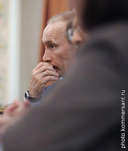 Председатель правительства России Владимир Путин