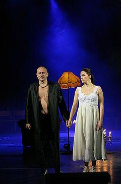 Репетиция спектакля «Мистер Вертиго» Национального театра Хельсинки