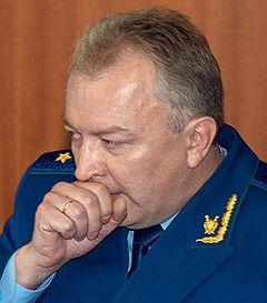 Будущий прокурор Московской области Александр Аникин