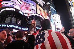 """Ликвидацию лидера """"Аль-Каиды"""" жители Нью-Йорка вышли праздновать всем городом"""