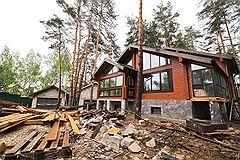 Поселок, в котором строится дом бывшего первого заместителя прокурора Московской области Александра Игнатенко