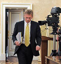 Пресс-секретарь правительства России Дмитрий Песков