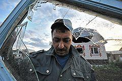 Последствия взрывов на складах 102-го арсенала артиллерийских боеприпасов Центрального военного округа в селе Пугачево (28 км от Ижевска)
