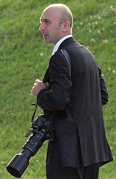 Личный фотограф президента Михаила Саакашвили Ираклий Геденидзе
