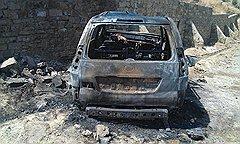 Место гибели сына главы Унцукульского района Магомедгаджи Тагирова, в результате покушения на его отца, в Буйнакске