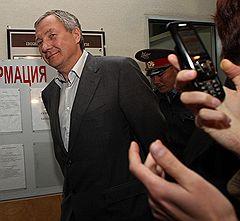 Заместитель главы администрации Екатеринбурга Виктор Контеев во время ареста в здании суда Верх-Исетского района
