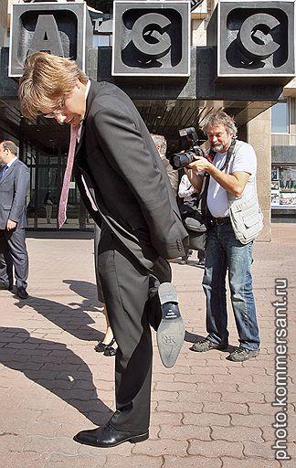 В отличие от избирателей эксперты не обнаружили в программе партии Нила Ушакова (на фото) следов борьбы за интересы русскоязычного населения Латвии