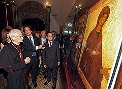 Выставка икон из частного московского музея в замке Святого Ангела