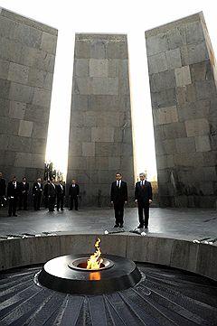 Президент Франции Никола Саркози и президент Армении Серж Саргсян