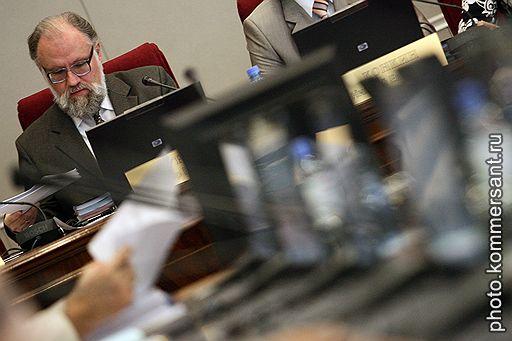Председатель Центральной избирательной комиссии (ЦИК) России Владимир Чуров