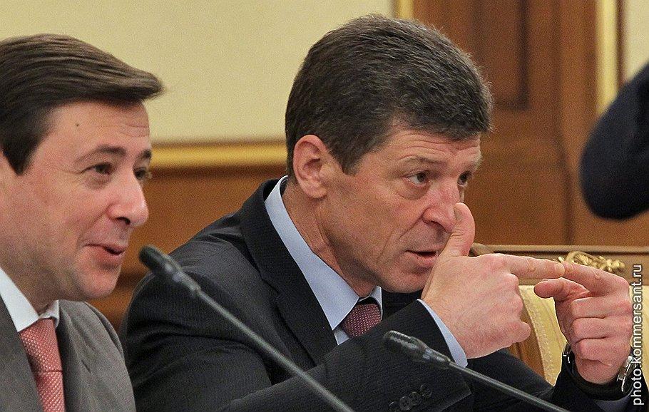 Дмитрий Козак и Александр Хлопонин получают все новые предложения из регионов с требованиями полномочий и денег на их исполнение