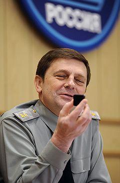 Командующий Космическими войсками России генерал-лейтенант Олег Остапенко