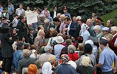 Бывший премьер-министр Башкирии Раиль Сарбаев (в центре без галстука)