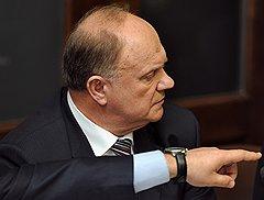 Председатель ЦК Коммунистической партии России (КПРФ) Геннадий Зюганов