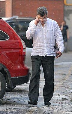 """Сопредседатель оппозиционного движения """"Солидарность"""" Борис Немцов"""