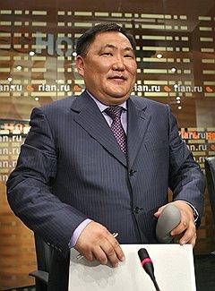 Председатель правительства Республики Тыва Шолбан Кара-Оол