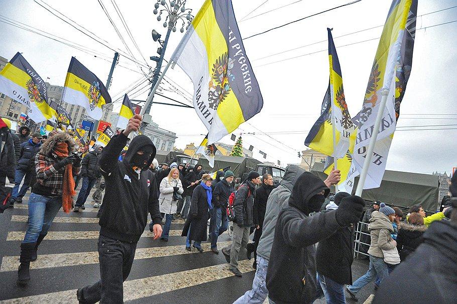 """Участники митинга оппозиции. Митинг под лозунгом """"За честные выборы"""" прошел на площади Революции"""