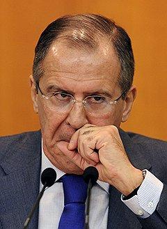 Министр иностранных дел (МИД) России Сергей Лавров