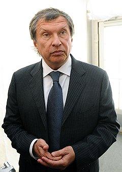 Заместитель предстедателя Правительства России Игорь Сечин