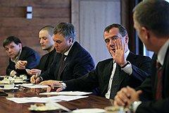 Дмитрий Медведев принял не все предложения лидеров незарегистрированных партий