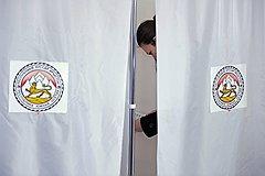 Выборы президента Южной Осетии. Голосование на избирательном участке