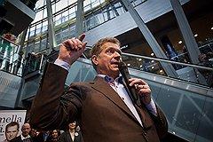 Новоизбранный президент Финляндии Саули Ниинисто