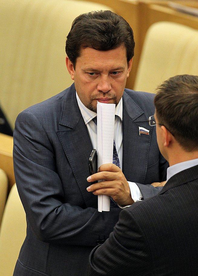 Член комитета Государственной думы России по экономической политике и предпринимательству Виктор Звагельский