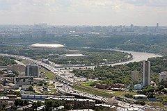 """Виды Москвы. Спорткомплекс """"Лужники"""""""