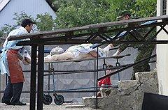 Морг Крымска оказался не способен принять тела всех жертв стихии