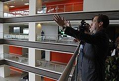 Новые здания Дальневосточного федерального университета произвели впечатление на премьер-министра Дмитрия Медведева