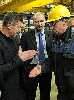 Дмитрий Козак ударил по рукам с руководством Балтийского завода, пообещав финансирование. Новый контракт, правда, пока так и не заключен