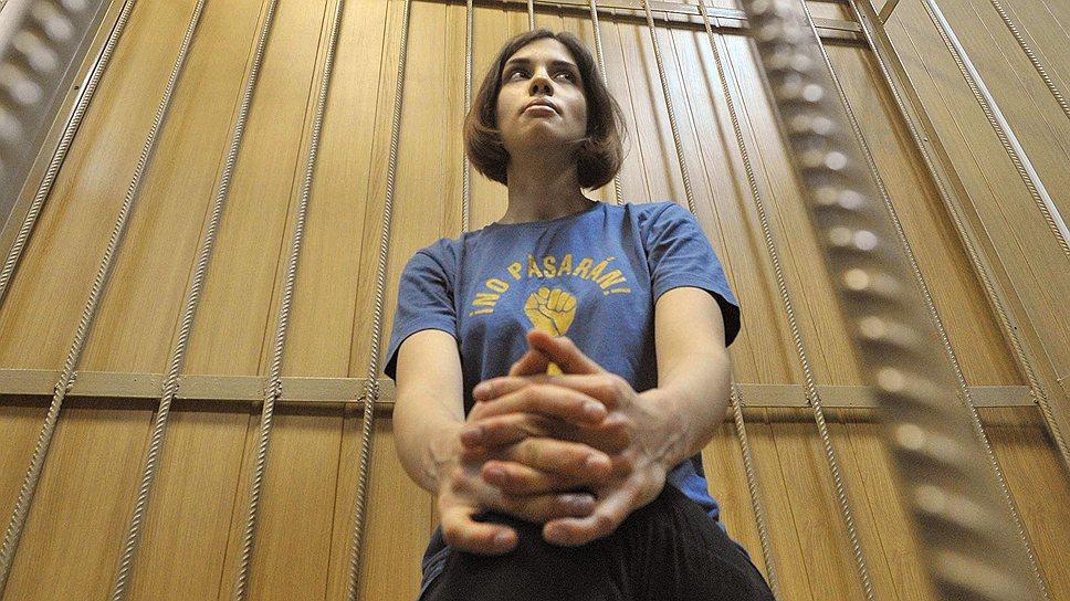 После года заключения Надежда Толоконникова получила право просить условно-досрочного освобождения