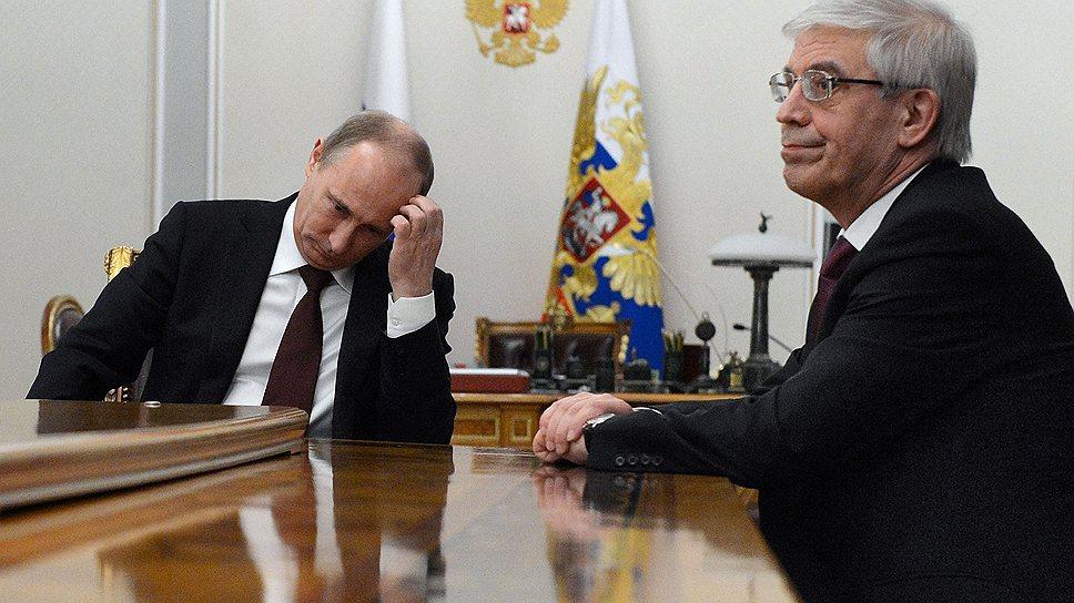 Кадровый выбор Владимира Путина не стал сюрпризом ни для прежнего главы ЦБ Сергея Игнатьева, ни для его преемницы Эльвиры Набиуллиной