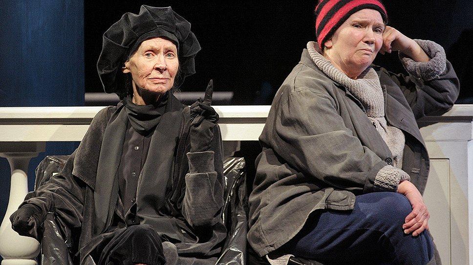 Режиссура знаменитой додинской актрисы Татьяны Шестаковой (справа) свелась к актерскому дуэту с не менее знаменитой Татьяной Щуко