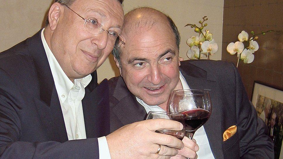 С Владимиром Гусинским Борис Березовский ссорился и мирился чаще, чем с другими олигархами