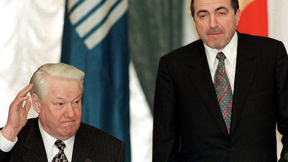 Во времена второго срока Бориса Ельцина слава о могуществе Бориса Березовского достигла апогея