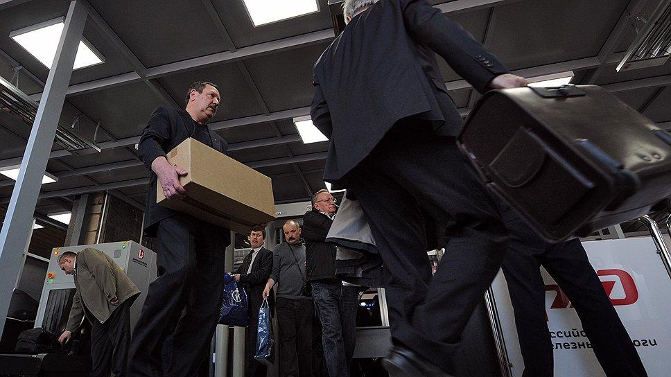 В РЖД пока не знают, сколько времени новая процедура досмотра отнимет у пассажиров