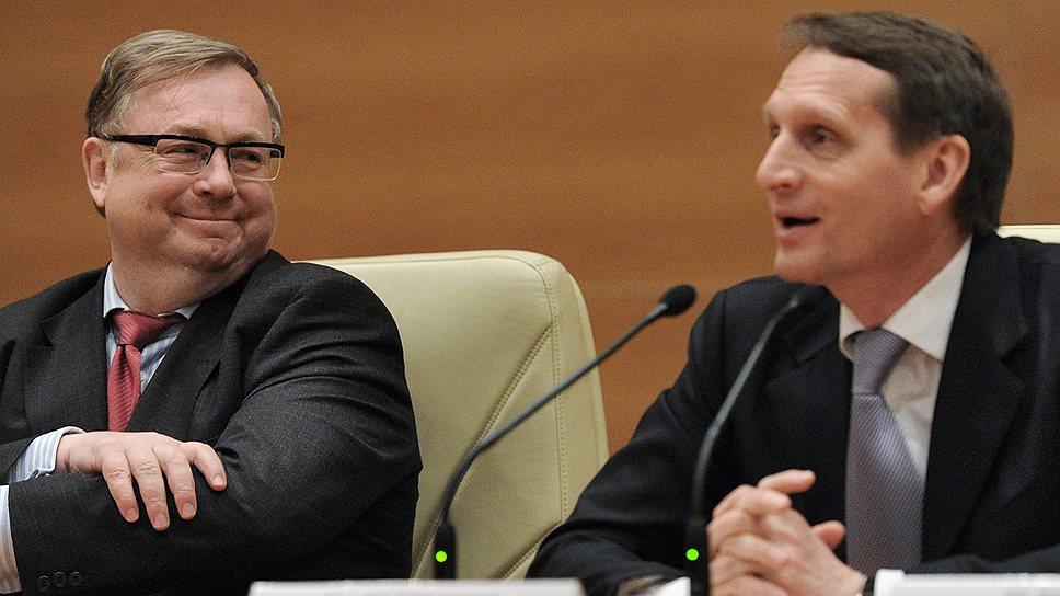 Сергей Степашин (слева) не без удовольствия вспоминает о событиях 20-летней давности