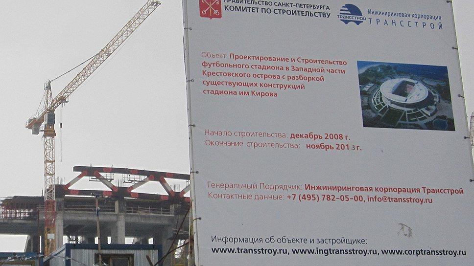«Зенит-Арена» попала под уценку