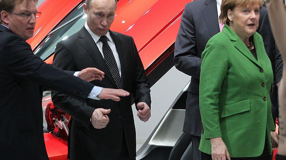 Феменальное представление / Ганновер и Амстердам встретили Владимира Путина шоу — каждый по-своему