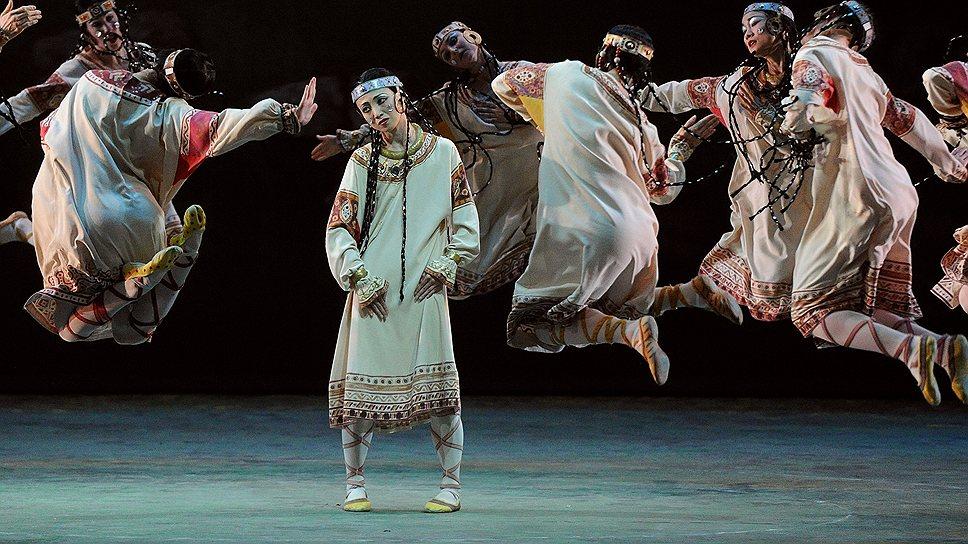 Финским артистам идеально подошла архаично-авангардная хореография Вацлава Нижинского