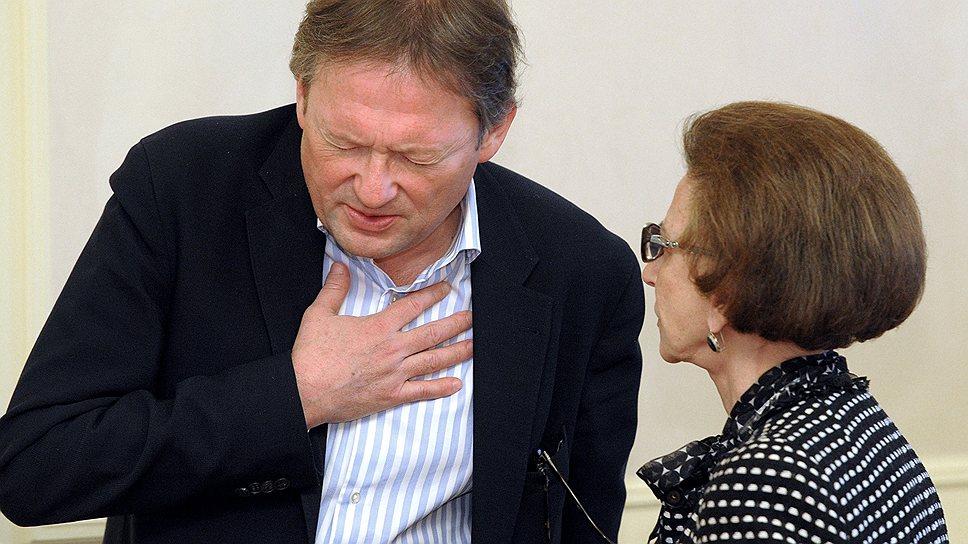 Борис Титов сошелся в мнении с бывшим судьей  Конституционного суда Тамарой Морщаковой о том, что осужденные бизнесмены заслуживают воли