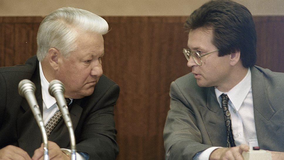 Сергей Медведев снимет документальный фильм о событиях 1993 года, опираясь в том числе и на собственные воспоминания