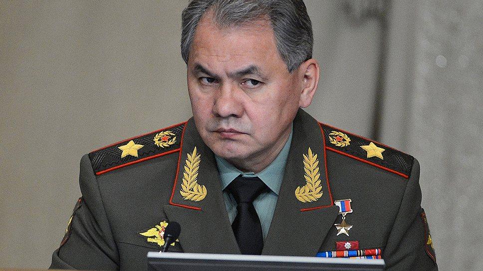 Сергею Шойгу  предложено задуматься над переносом части расходов на государственную программу вооружений до 2020 года