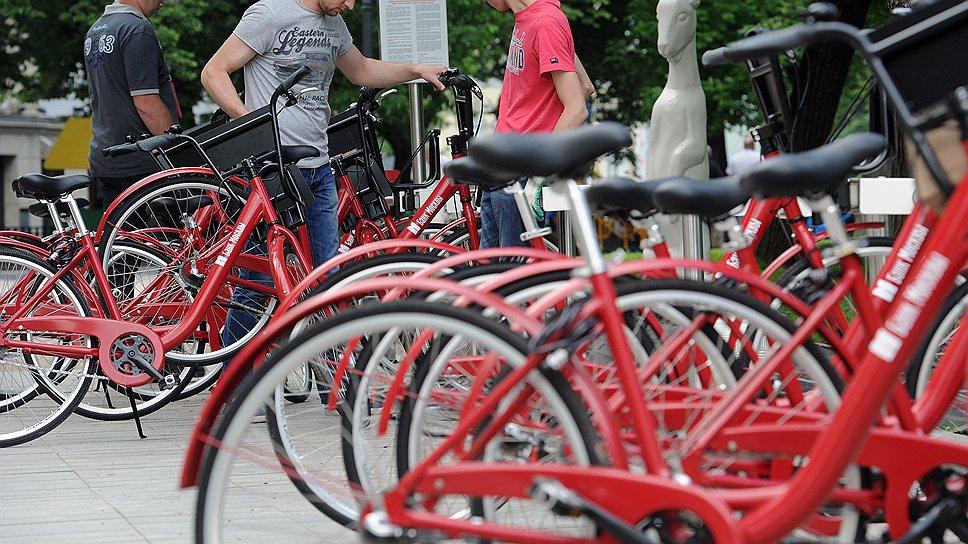 В столичной мэрии надеются, что красть велосипеды из автоматических круглосуточных прокатов граждане все же не будут